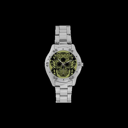 SKULL FILIGRAN Men's Stainless Steel Analog Watch(Model 108)