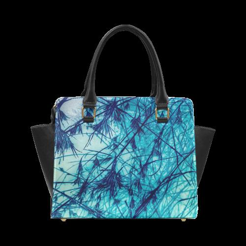 Blue Seeds Classic Shoulder Handbag (Model 1653)