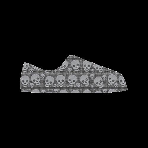 SKULLS EVOLUTION Aquila Action Leather Women's Shoes (Model 028)