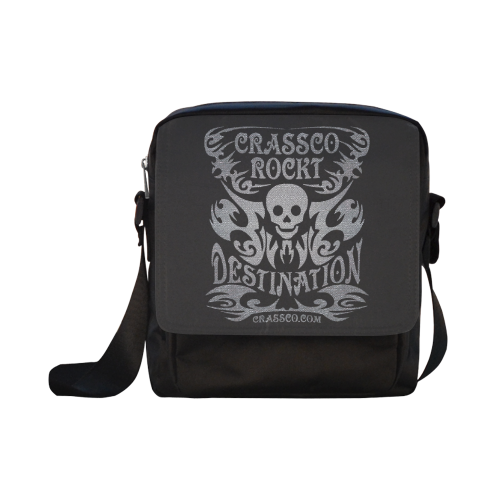 SKULL DESTINATION Crossbody Nylon Bags (Model 1633)