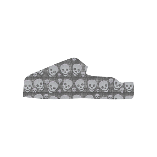 SKULLS EVOLUTION Low Top Loafers Womens Shoes (Model 026)