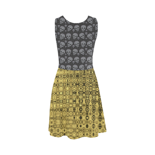 SKULLS LUXURY GOLD Atalanta Sundress (Model D04)