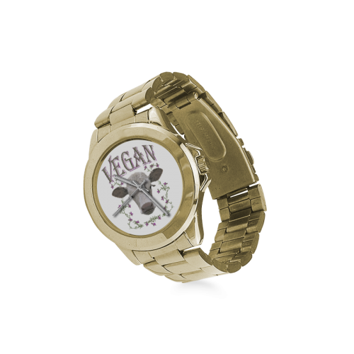 VEGAN CALF Custom Gilt Watch(Model 101)