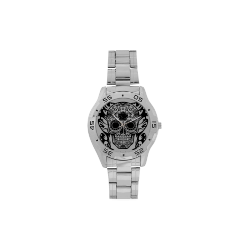 SKULL FILIGRAN Men's Stainless Steel Analog Watch(Model 108)