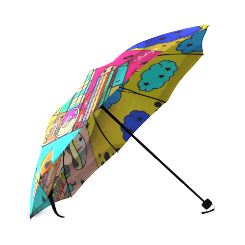 Chicago by Nico Bielow Foldable Umbrella (Model U01)