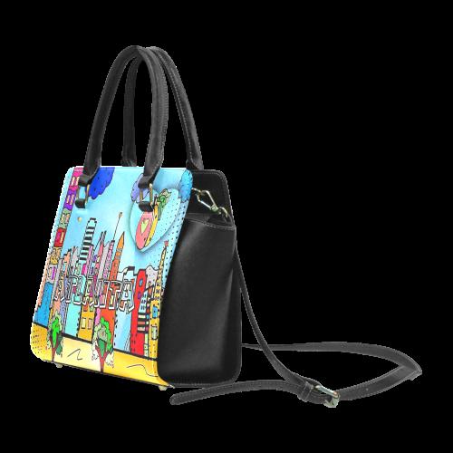 Atlanta by Nico Bielow Classic Shoulder Handbag (Model 1653)