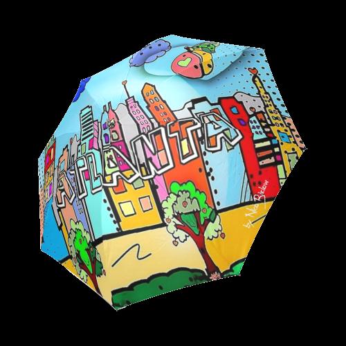 Atlanta by Nico Bielow Foldable Umbrella (Model U01)
