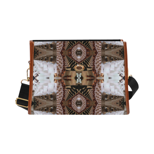 Annabellerockz-ethnic-style-waterproof bag Waterproof Canvas Bag/All Over Print (Model 1641)