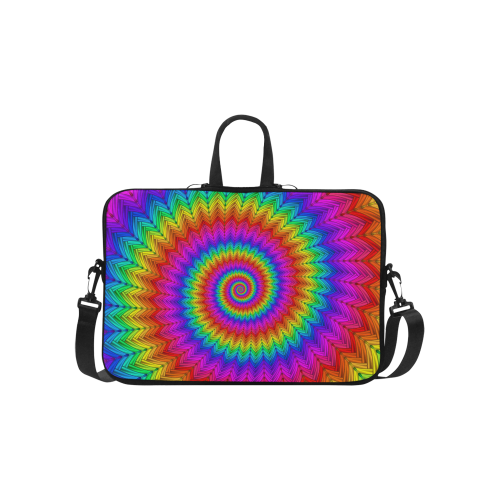 Psychedelic Rainbow Spiral MacBook Air 15.6""