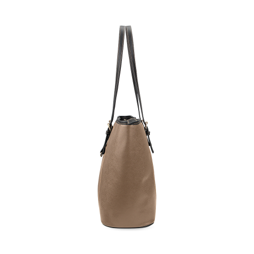 VEGAN ROCKT Leather Tote Bag/Small (Model 1640)