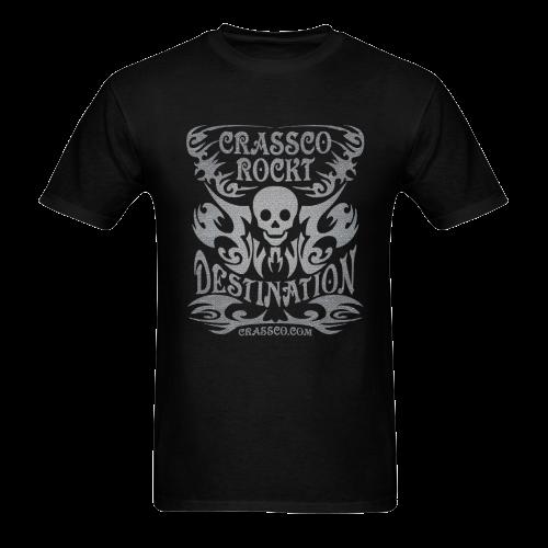 SKULL DESTINATION Sunny Men's T-shirt (USA Size) (Model T02)