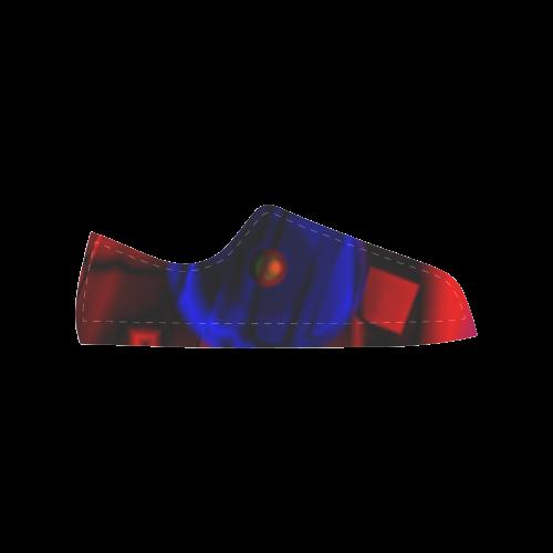 geometry Aquila Microfiber Leather Men's Shoes (Model 028)