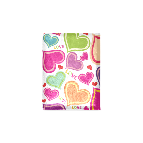 Hearts and Love Custom NoteBook B5