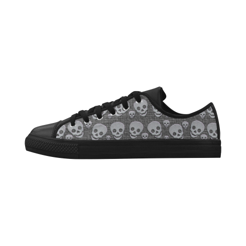 SKULLS EVOLUTION Aquila Microfiber Leather Women's Shoes (Model 028)