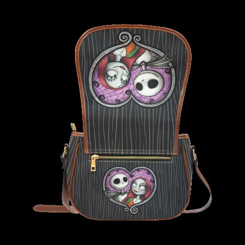Jack and Sally Saddle Bag/Large (Model 1649)