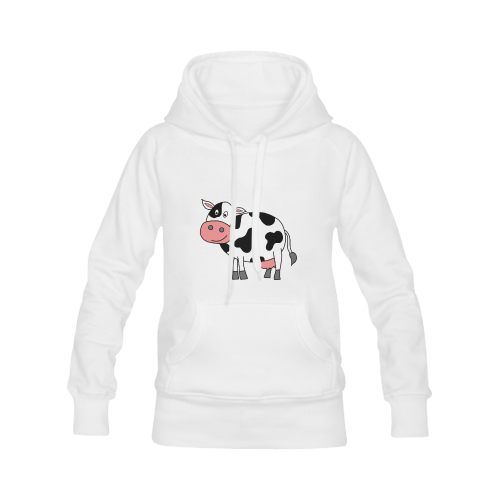Moo Cow Women's Classic Hoodies (Model H07)