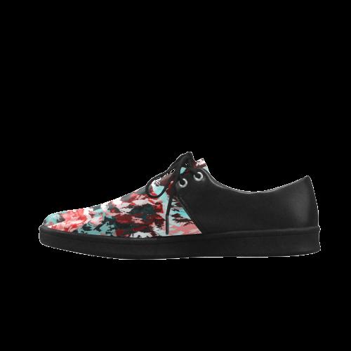 Foliage Patchwork #7 - Jera Nour Brogue Lace Up Men's shoes (Model 024)