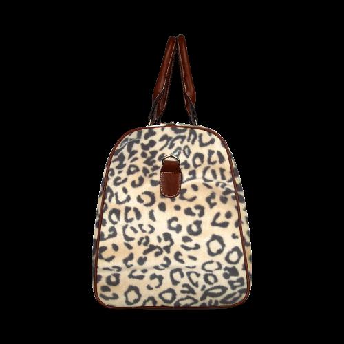 Leopard Print Waterproof Travel Bag/Small (Model 1639 ...