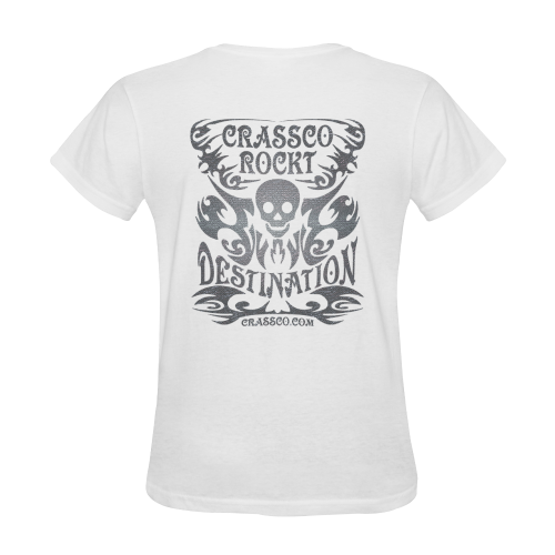 SKULL PLUS DESTINATION Sunny Women's T-shirt (Model T05)