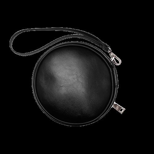 Orthricon Fractal Fantasy Round Makeup Bag Round Makeup Bag (Model 1625)