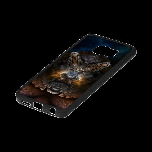 Orthricon Fractal Fantasy Samsung Galaxy S6 Edge Rubber Case Rubber Case for Samsung Galaxy S6 Edge