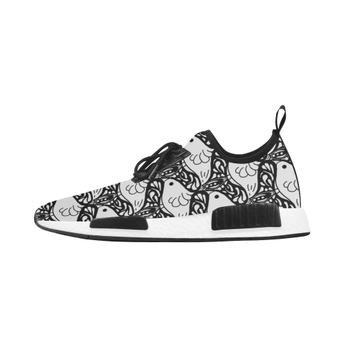Bird and Butterfly Tessellation Women's Draco Running Shoes (Model 025)