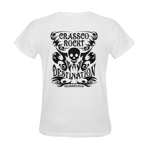SKULL DESTINATION Sunny Women's T-shirt (Model T05)
