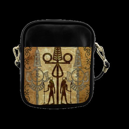 Egyptian sign Sling Bag (Model 1627)