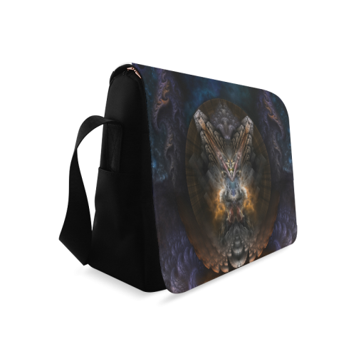 Orthricon Fractal Fantasy Messenger Bag Messenger Bag (Model 1628)
