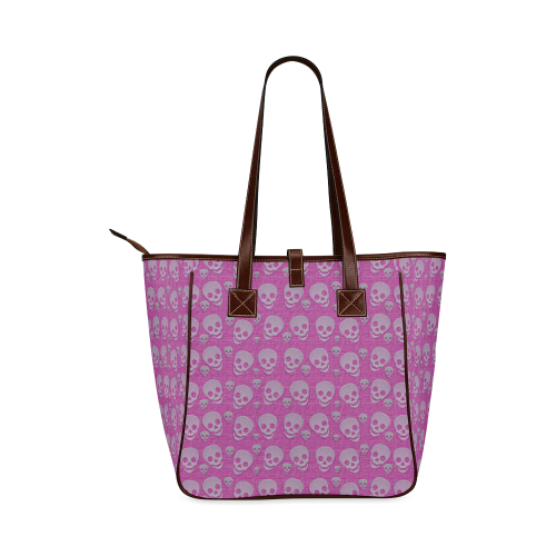 SKULLS EVOLUTION Classic Tote Bag (Model 1644)