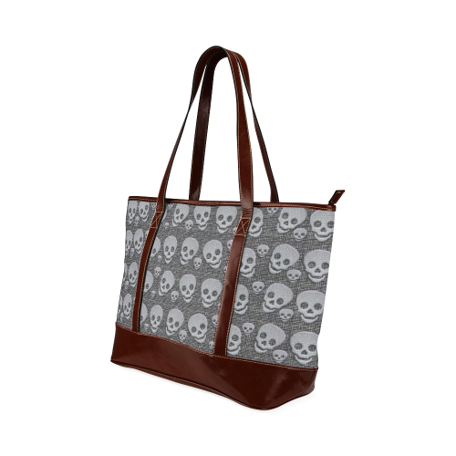 SKULLS EVOLUTION Tote Handbag (Model 1642)