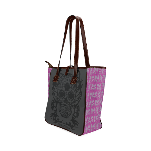 SKULL PLUS Classic Tote Bag (Model 1644)