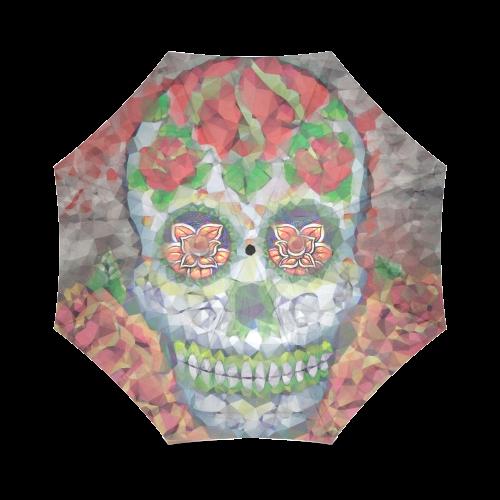 Polygon Skull Foldable Umbrella (Model U01)