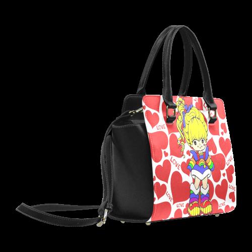 rainbow-girl-Love Classic Shoulder Handbag (Model 1653)