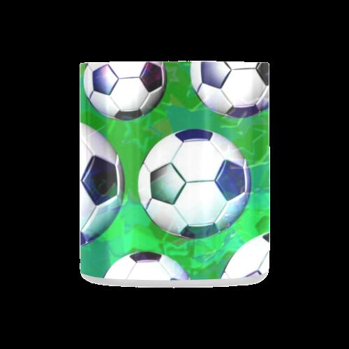 Soccer Ball Football Pattern Classic Insulated Mug(10.3OZ)