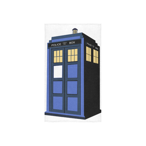 "tardis towel Custom Towel 16""x28"""