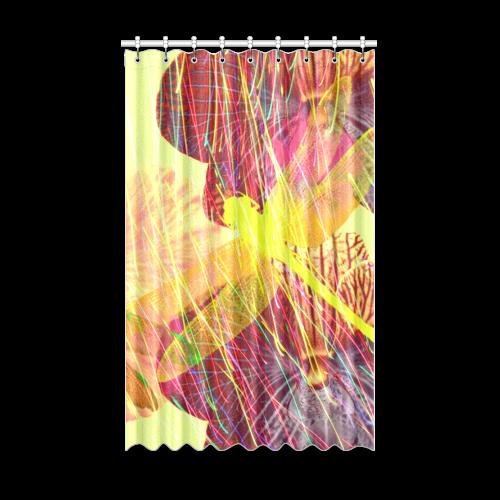"Dragonflies & Flowers Summer Window Curtain 52"" x 84""(One Piece)"