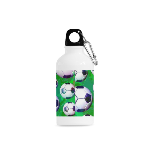 Soccer Ball Football Pattern Cazorla Sports Bottle(13.5OZ)
