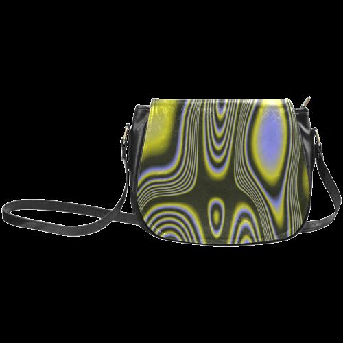 abstract shades 04B Classic Saddle Bag/Large (Model 1648)