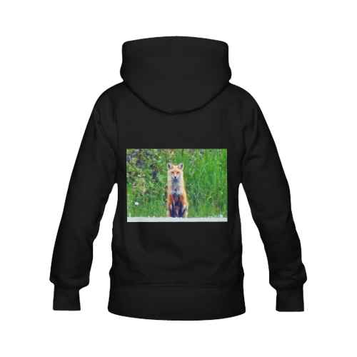 Red Fox Women's Classic Hoodies (Model H07)