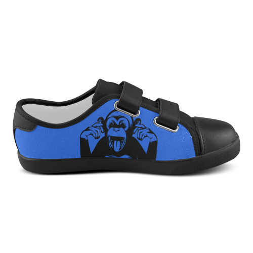 Monkey-Kids Velcro Canvas Kid's Shoes (Model 008)