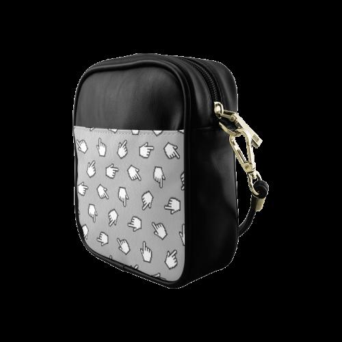 Link Me Pattern Sling Bag (Model 1627)
