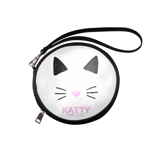 Katty Kiouture Makeup Bag Round Makeup Bag (Model 1625)