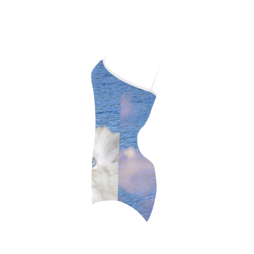 Cat and Water Strap Swimsuit ( Model S05)