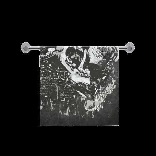 """Dark Gothic Skull Bath Towel 30""""x56"""""""