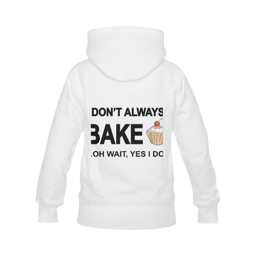 I don't always bake oh wait yes I do! Men's Classic Hoodies (Model H10)
