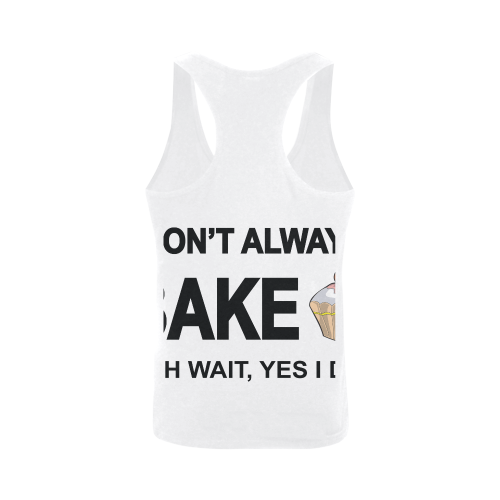 I don't always bake oh wait yes I do! Plus-size Men's I-shaped Tank Top (Model T32)