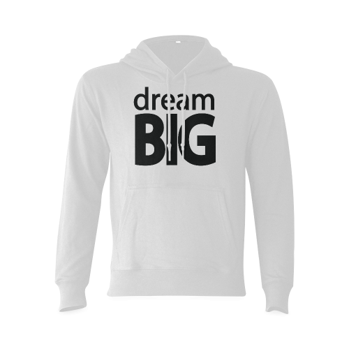 Dream Big Gildan Hoodie Sweatshirt (Model H03) | ID: D326920