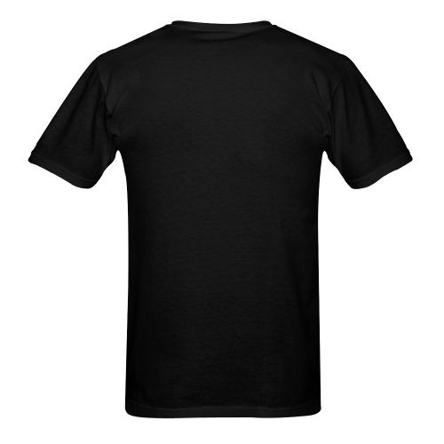 Swirly Claw Marks Sunny Men's T-shirt (USA Size) (Model T02)