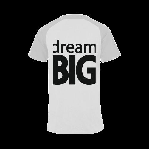 Dream Big Men's Raglan T-shirt Big Size (USA Size) (Model T11)